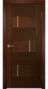 U0026quot Dominika U0026quot  Wenge Oak Modern Interior Door