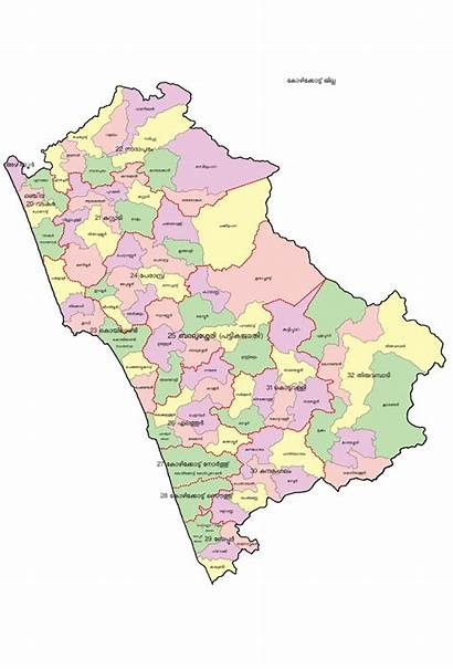 Map District Kozhikode Ml Svg Commons Wikimedia