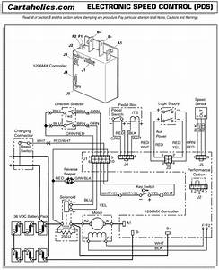 Ez Go Speed Controller Wiring Diagram