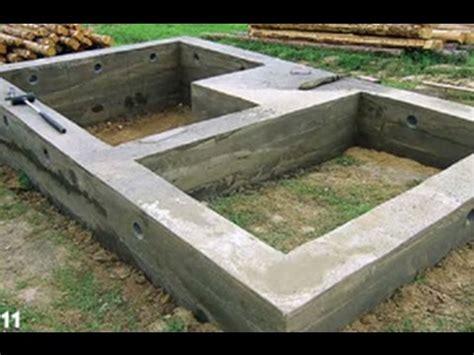 gartenhaus fundament bauen fundament selber bauen gartenhaus fundament selber bauen