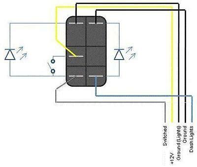 narva led rocker switch wiring diagram fog lights rocker switch arb carling narva dual blue led