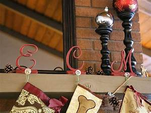 how to make monogram stocking holders craftcutscom With alphabet letter stocking holders