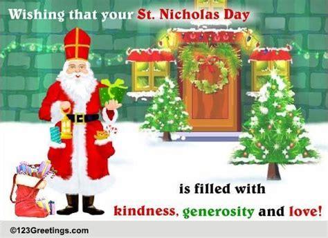 St. Nicholas Day Warm Wish. Free St. Nicholas Day Ecards