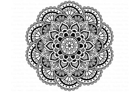Our svg files are ready to use with cricut and silhouette cutting. Mandala SVG DXF, Mandala Drawing. ~ Illustrations ...