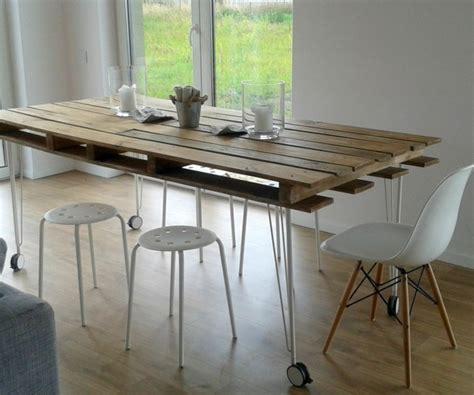 Tisch Aus Europaletten Bauen by M 246 Bel Aus Paletten 95 Sehr Interessante Beispiele