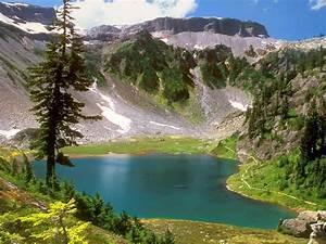 Water, Mountains, Landscapes, Nature, Trees, Desktop, Hd, Wallpaper, 97405, Wallpapers13, Com