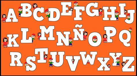 Abecedario para niños Alphabet in Spanish for Kids
