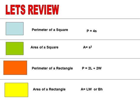 Area  Volume Unit Formulas  Ppt Download