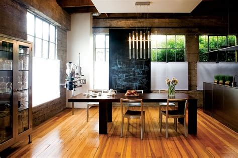 Minimalist And Functional Dining Room Interior Design Of A