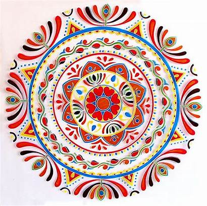 Rangoli Mandala Alpona Diwali Clipart Indian Patterns