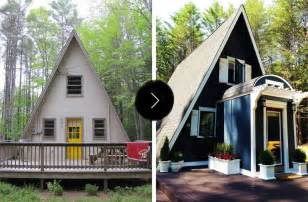 Home Design Before And After Before After An A Frame Cottage Gets An A Renovation Design Sponge