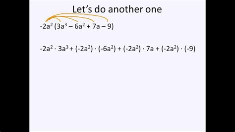 Multiplying Monomials And Polynomials (simplifying Math) Youtube