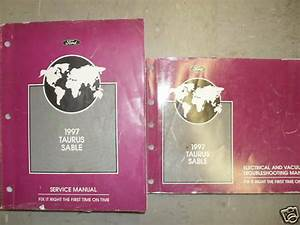 1998 Ford Taurus Repair Service Shop Manual Set Factory Service Manual And The Wiring Diagrams Manual