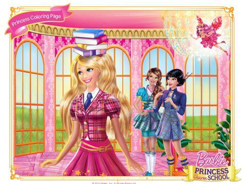 Barbie: Nueva imagen de Barbie escuela de princesas