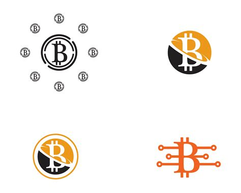 The bitcoin logo is an example of the crypto industry logo from global. Bitcoin logo vector template - Download Free Vectors ...