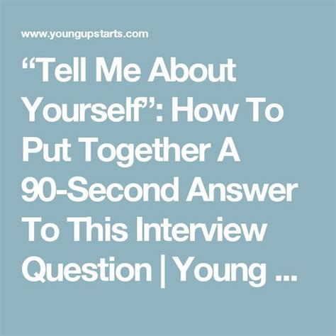 15046 tell me about yourself answer tell me about yourself answer questions and