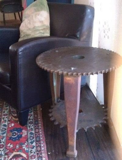 recycled scrap metal  furniture project ideas