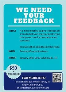 Event seeks prostate cancer survivors for feedback on ...