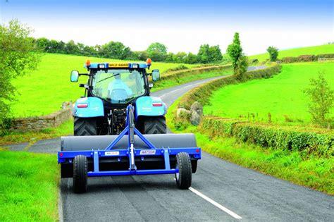 water ballast land roller c w rear hydraulic wheel kit clarke machinery