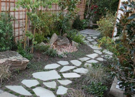 backyard pathways 15 unique garden water features gardens copper and walkways
