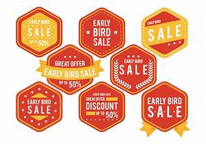 Early Bird Badge - Download Free Vector Art, Stock ...