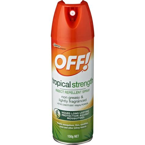 bug repellent off skintastic insect repellent tropical spray woolworths