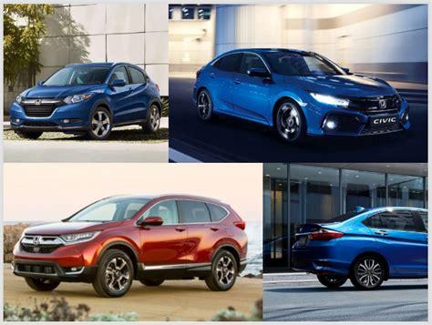 Top 6 Upcoming Honda Cars In India; Hrv, Civic, New City