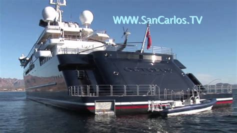 san carlos tv video   week octopus mega yacht youtube