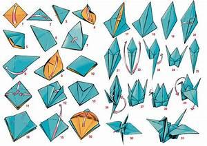 Origami Kranich Anleitung : origami crane diy pinterest origami cranes and origami ~ Frokenaadalensverden.com Haus und Dekorationen