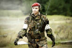 German Army Female Soldiers