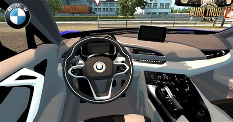 bmw  interior   car mod euro truck