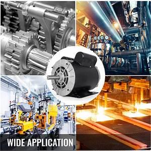 New 3 Hp 3450 Rpm Air Compressor 60 Hz Electric Motor 115