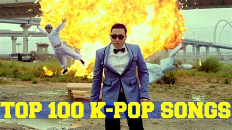 Top 100 Most Viewed K-pop Music Videos Of All Time