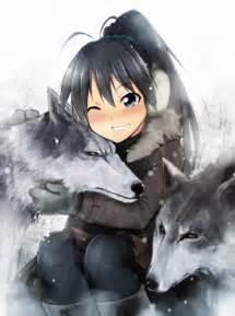 Anime Winter Wolves