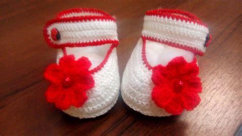 zapatitos tejidos a crochet para bebe de 0 a 3 meses 2017