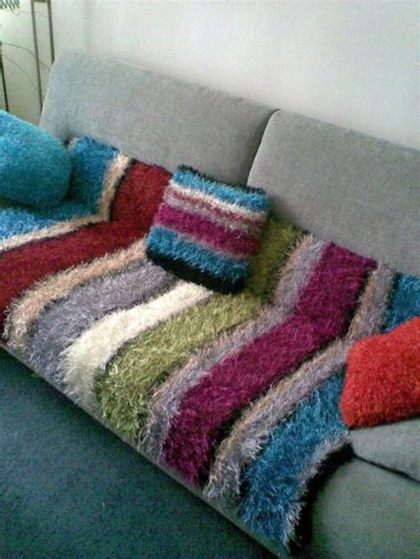 Handmade Throws and Pillows to Personalize Interior