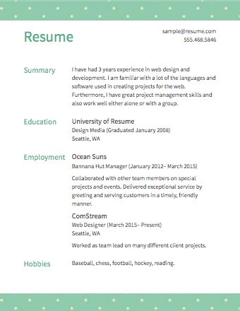 Make A Free Resume And Save It by Free Resume Builder Resume Templates To Edit
