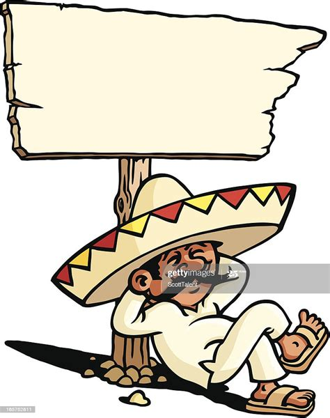 sleeping mexican high res vector graphic getty images