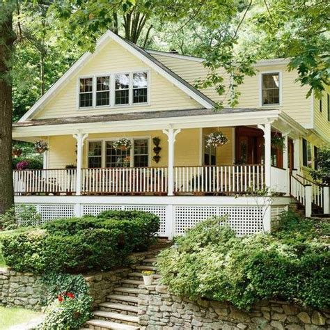 wrap around front porch front porch design ideas wrap around porches the wrap cute house and yellow cottage