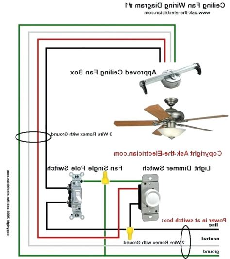 harbor breeze ceiling fan wiring diagram to hunter ceiling