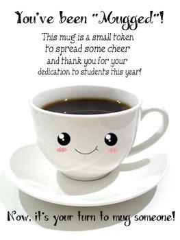 youve  mugged teacher appreciation morale