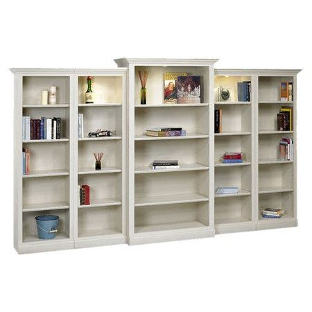 Large White Bookshelf by Large White Bookshelf With Built In Lighting For The
