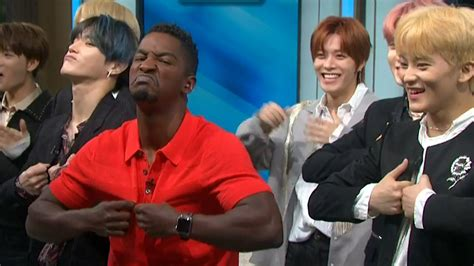 access hollywood interview nct  teaches access