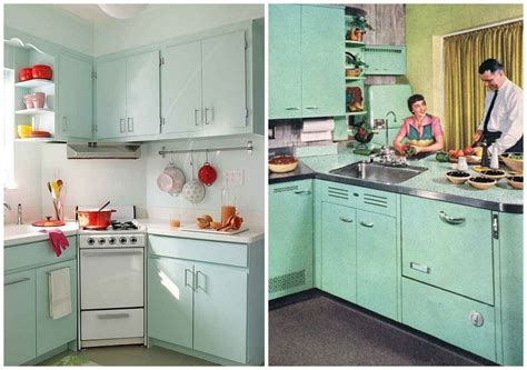 antique green kitchen cabinets 15 essential design elements for a perfectly retro kitchen 4091