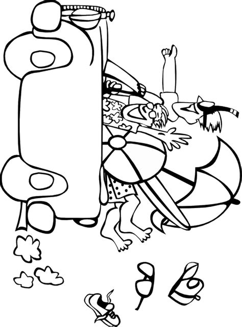 Coloring Templates by Summer Coloring Pages