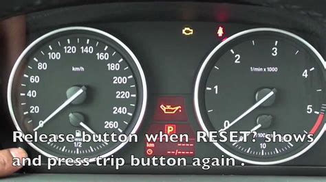 How To Reset The 2006-2011 Bmw Maintenance Light (oil