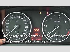 How to Reset the 20062011 BMW Maintenance Light oil
