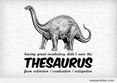 Meme Thesaurus - thesaurus by ben meme center