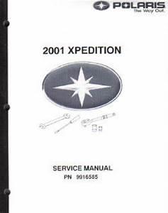 2001 Polaris Magnum 325 500 Atv Service Manual