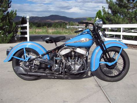 1938 Harley-davidson Wl45 Flathead. [desktop Wallpaper